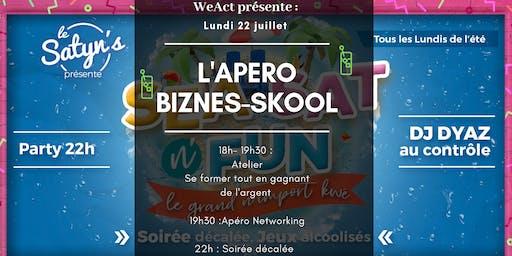 L'Apéro Biznes-Skool : Se Former tout en gagnant de l'argent (Toulon)