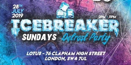 Icebreaker Sundays tickets