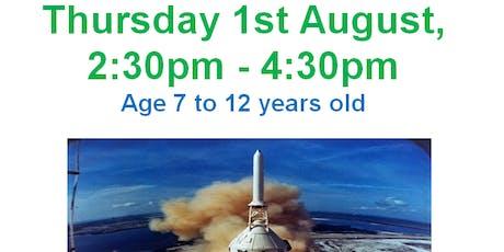 Churchdown Library - Space Explorer Challenge (STEM) tickets