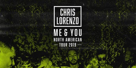 CHRIS LORENZO: Open To Close at 1015 Folsom tickets