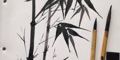 Bamboo Calligraphy Painting Workshop with Caroline Brown