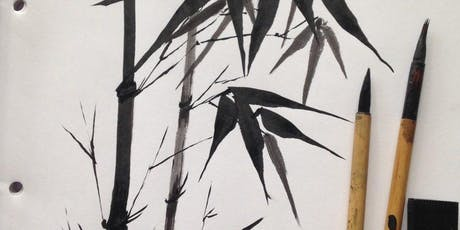Bamboo Calligraphy Painting Workshop with Caroline Brown tickets