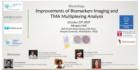 Improvements of Biomarkers Imaging and TMA Multiplexing Analysis tickets