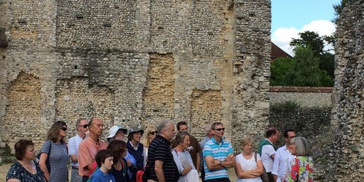 Wolvesey Castle guided tour