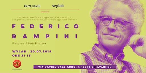 Federico Rampini incontra i lettori in Wylab