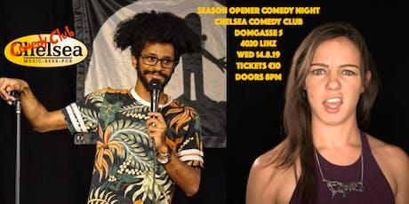 Chelsea Comedy Club Season opener comedy night Tickets