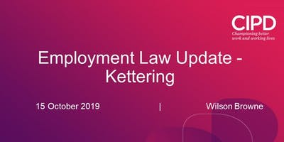 Employment Law Update - Kettering Event