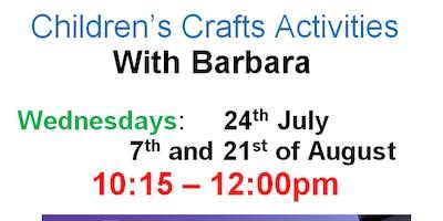 Churchdown Library - Summer Reading Challenge Craft Activities