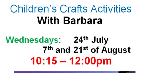 Churchdown Library - Summer Reading Challenge Craft Activities