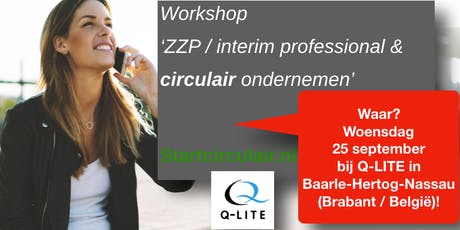 Interim professionals / consultants & circulair ondernemen tickets