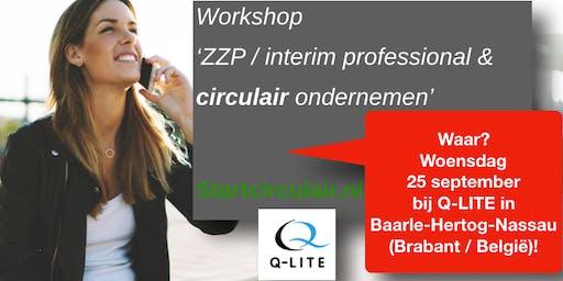 ZZP / interim professional & circulair ondernemen