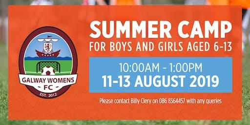 Galway Women's FC Summer Camp - 2019