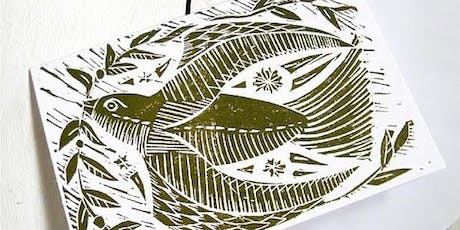 Lino Cut & Print at CassArt Liverpool tickets