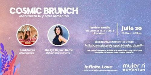 "Cosmic Brunch ""Manifiesta tu Poder Femenino"" by Infinite love"