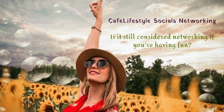 CafeLifestyle Socials Networking Oct 09 tickets