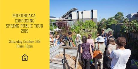 Murundaka Cohousing Spring Public Tour tickets