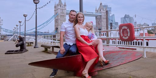 Professional Photo Session at London Tower Bridge