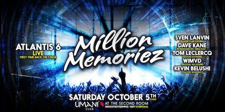 MILLION MEMORIEZ tickets
