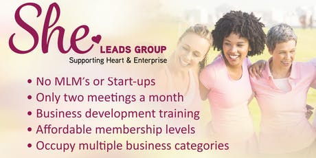 Evergreen Women's Networking Event - SHE Leads Group tickets