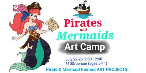 Art Camp: Pirates & Mermaids