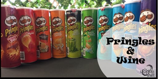 Complimentary Pringles and Wine Tasting