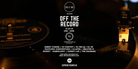 OFF THE RECORD @ Terminal 6 tickets