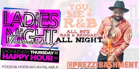 YOU, ME and R&B... all 90's R&B & Reggae tickets