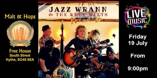 Live Music - Jazz Wrann & The Ruby Welts