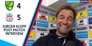 Liverpool v Norwich  |  K/O 20:00