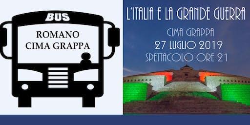 """Prenotazione Bus Spettacolo """"L'Italia e la Grande Guerra"""""""