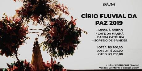 Círio Fluvial da Paz 2019 ingressos