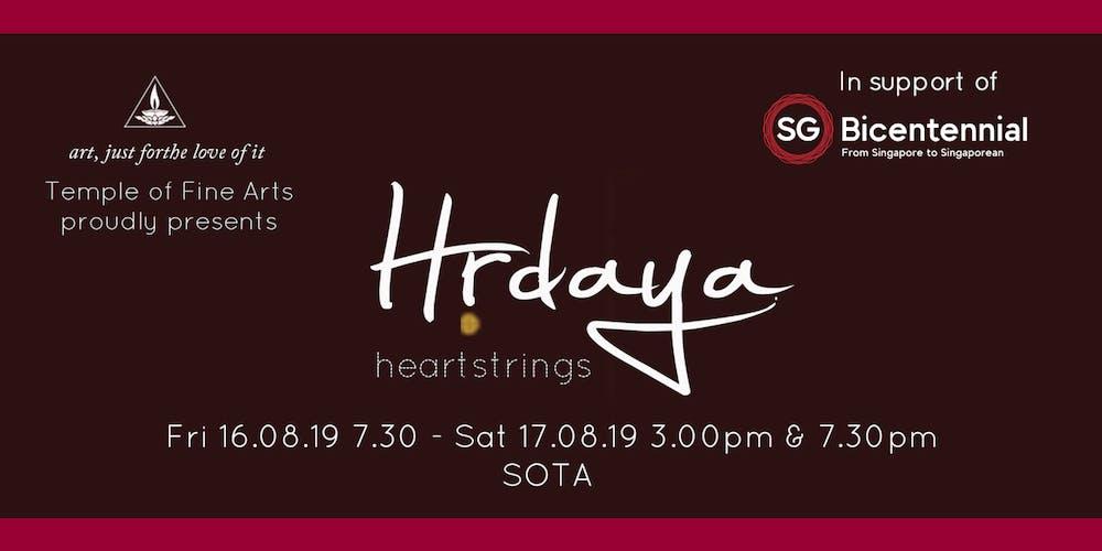 Hrdaya - Heartstrings Tickets, Multiple Dates   Eventbrite