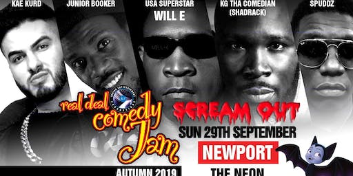 Real Deal Comedy Jam 'Scream Out Newport'