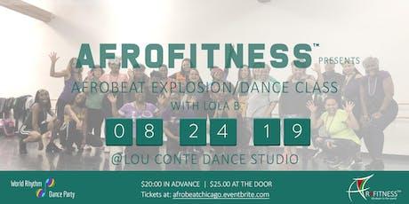 Afrobeat Explosion / Dance Class tickets