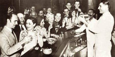 Downtown Pub Crawl: The SPOOKY Roaring '20s