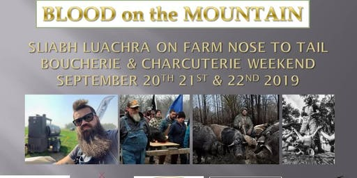 Blood on the Mountain Boucherie & Charcuterie Weekend