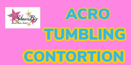 TUMBLING ACRO CONTORTION WORKSHOP tickets