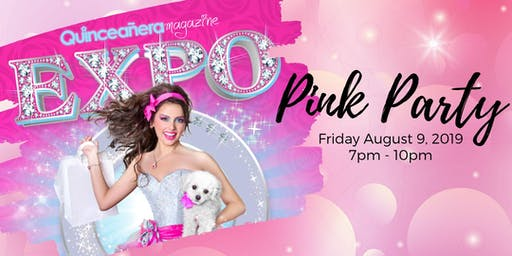 Quinceanera Magazine Pink Party