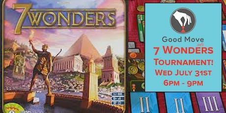 7 Wonders Tournament July 31st! tickets