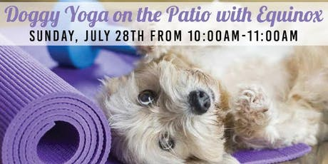 Doggy Yoga With Equinox tickets