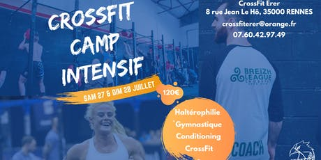 CROSSFIT CAMP INTENSIF billets