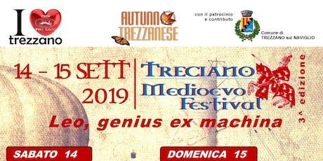 Treciano Medioevo Festival 2019 - Leo, genius ex machina biglietti
