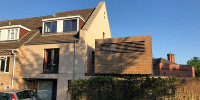 Open Greener House- PassivHaus refurbishment and extension of 1968 townhouse
