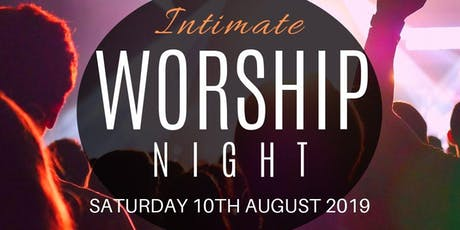Rebuilding the Walls of Worship (RTWOW) - Intimate Worship Night tickets