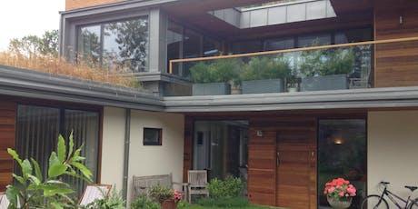 "Open Greener House- a recently built ""passivhaus"" home tickets"