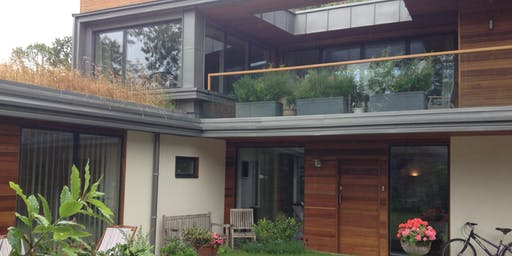 "Open Greener House- a recently built ""passivhaus"" home"
