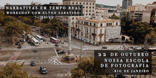 Narrativas em Tempo Real: Um Workshop com Elton Sabatino