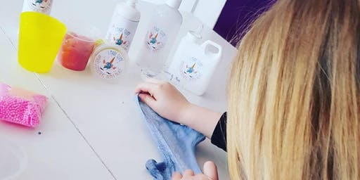 Pop up Galaxy slime making