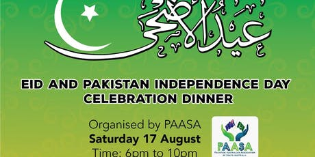 Eid & Pakistan Independence Day Celebrations Dinner tickets
