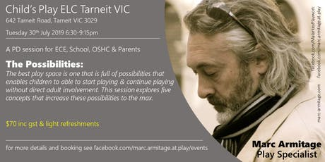 The Possibilities: five concepts that promote independent playing - Tarneit tickets